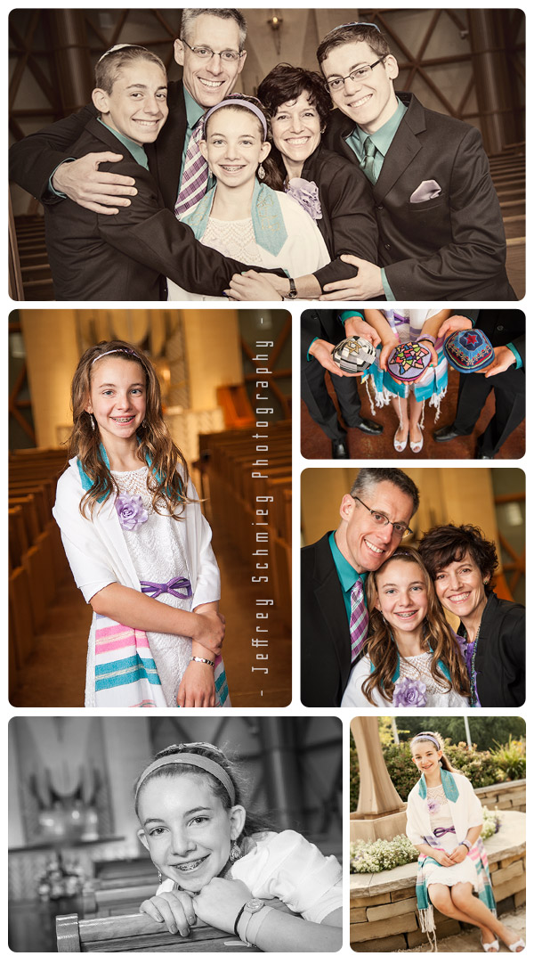 Bat Mitzvah Portraits