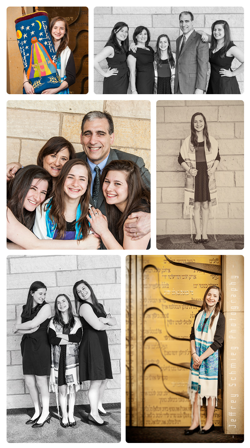 Bat Mitzvah Photography